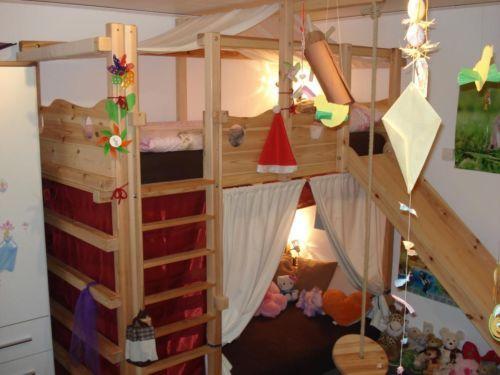 Wir Bieten Unser Abenteuerbett Etagenbett Mit Kuschelhohle Zum