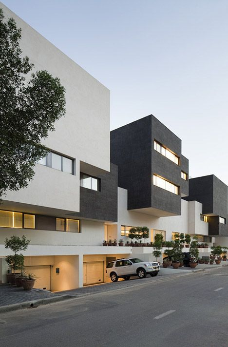 Black White House By Agi Architects Kuwait Lovesick With - The-contemporary-black-and-white-house-by-agi-architects