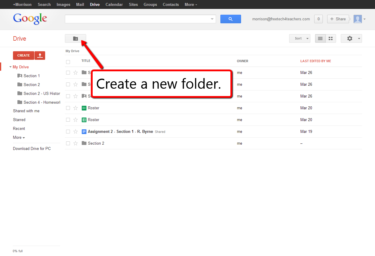Use Shared Google Drive Folders To Distribute Assignments To Students Teacher Technology Teaching Technology Teacher Resources