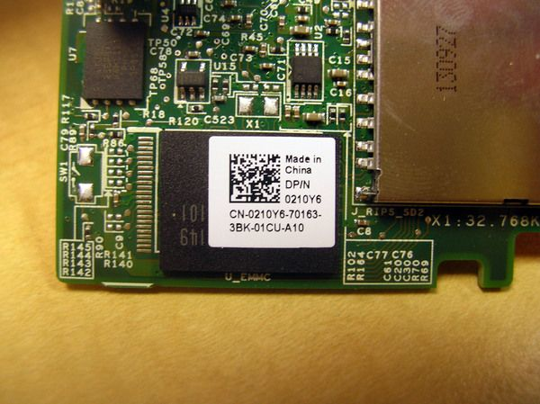 Dell PowerEdge M520 M620 Internal Dual SD Card Reader & USB