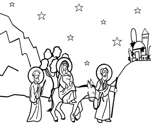 Several Orthodox Coloring Pages With Images Sunday School Kids