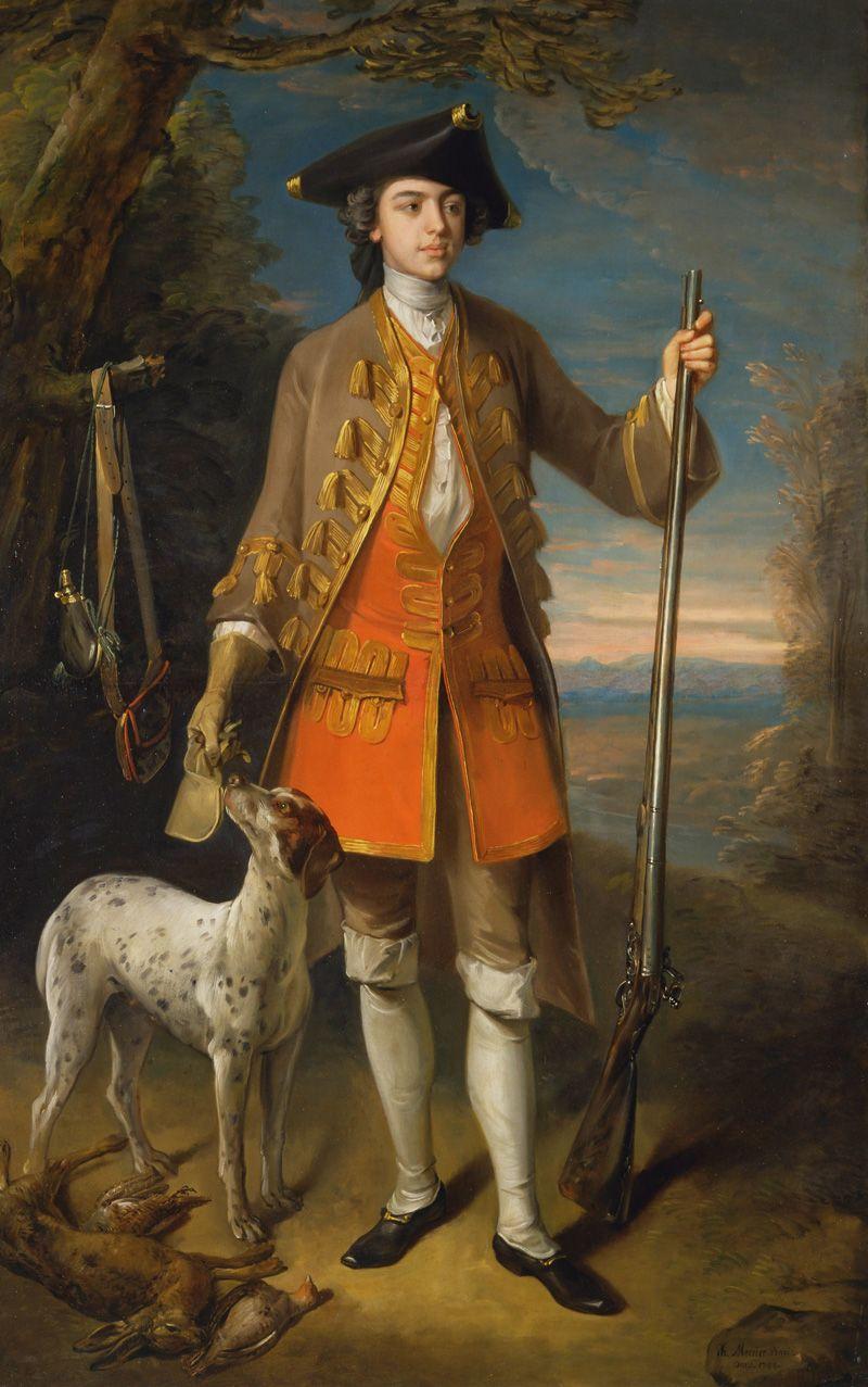 Philippe Mercier: Sir Edward Hales, Baronet, of Hales Place, Hackington, Kent, 1744.