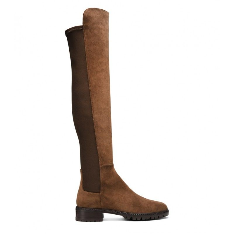 8d6689270 59% BLACK FRIDAY SALE | Stuart Weitzman The 5050 City Boot Velour Cigar  Brown #blackfridaydeals #blackfridaysale