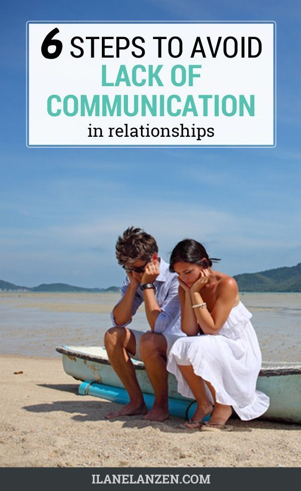 Lack of communication in dating