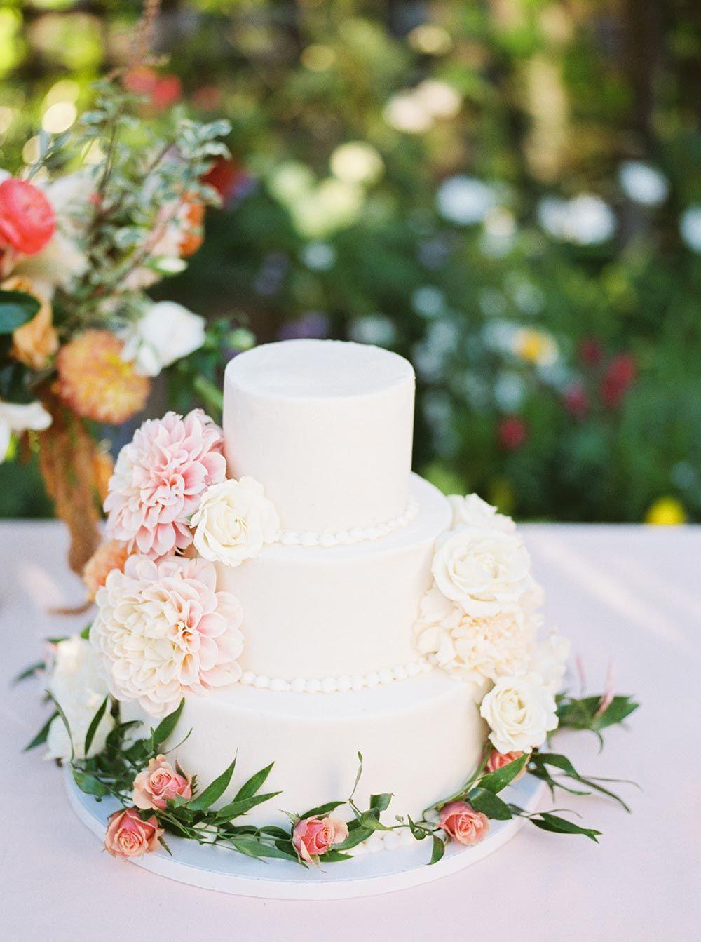 Peach And Copper Garden Inspired Wedding In Los Altos Floral
