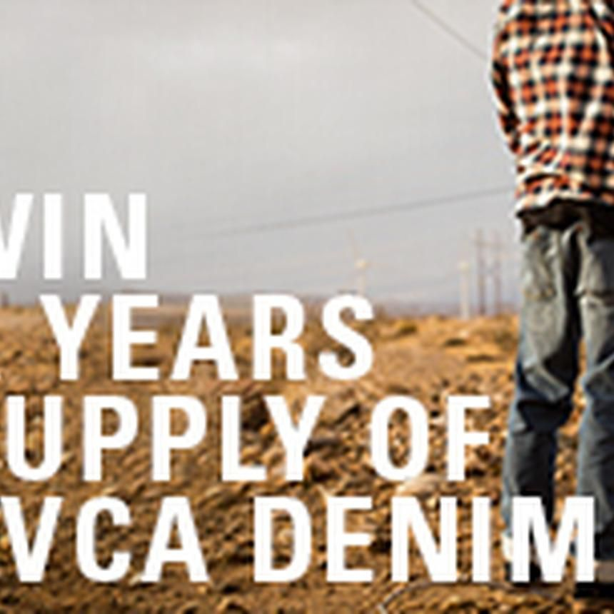 Years supply of denim sweepstakes sweepstakes months in