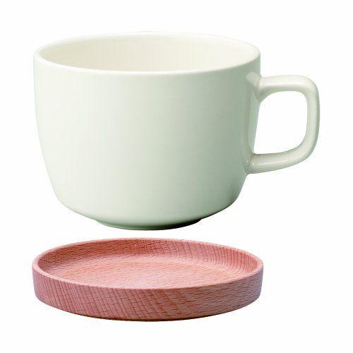 KINTO Nachbarn Tasse und Untertasse 280 ml