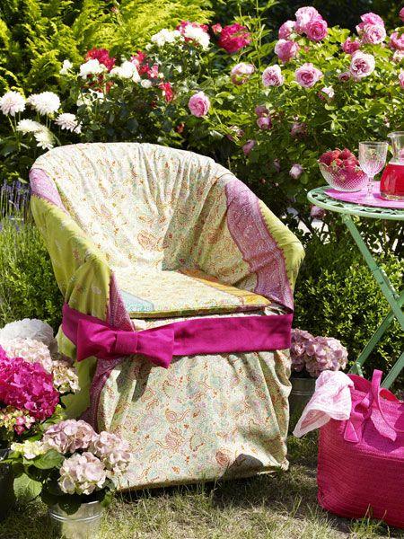 Aus alt mach neu Gartenmöbel selber machen Blumen, Natur und
