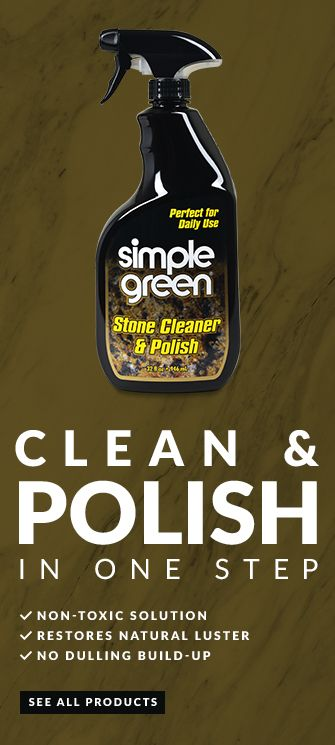 Simple Green Stone Cleaner Polish Is