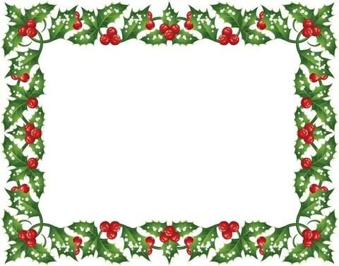 Red And Green Greeting Card Border Design Sadiakomal  Border