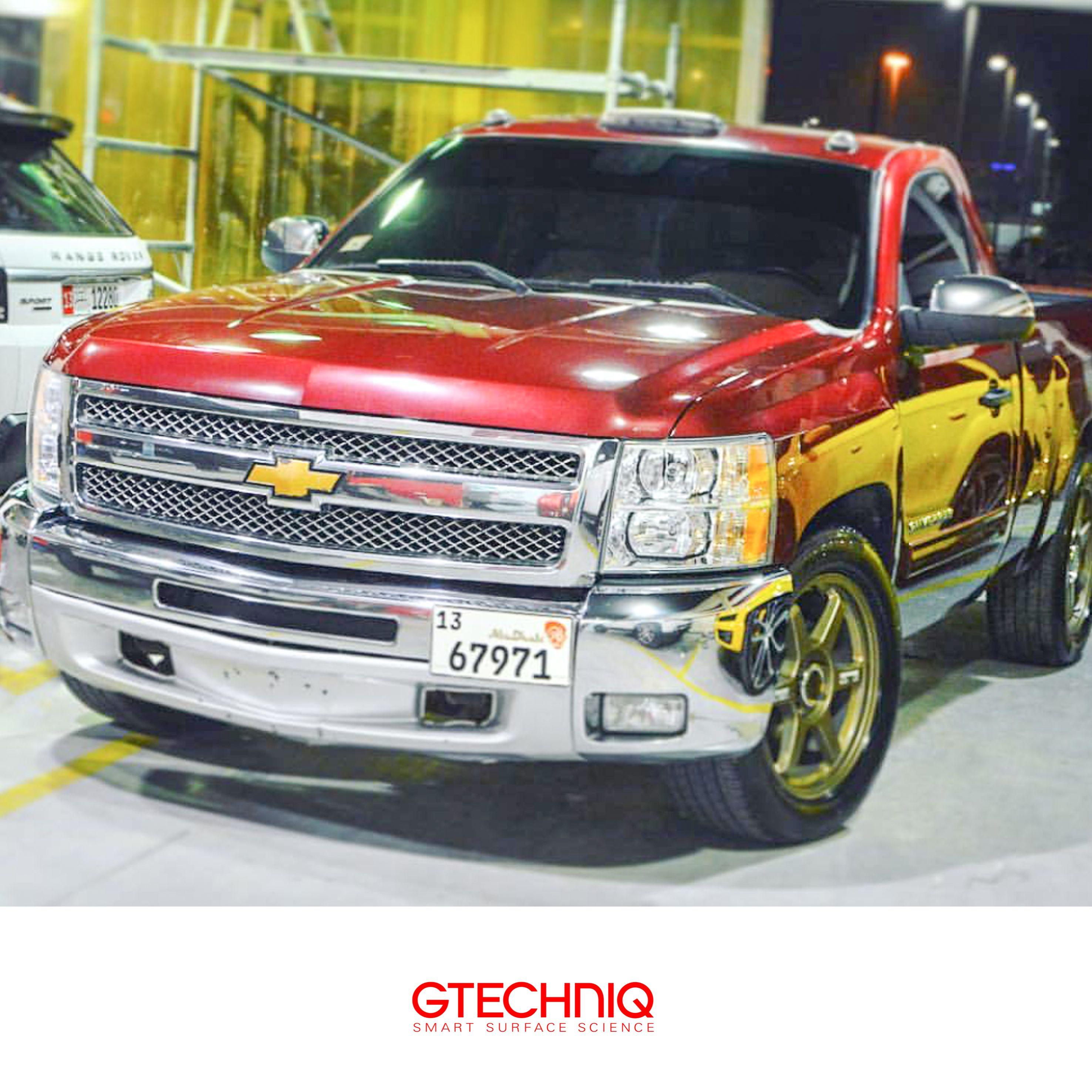 #GMC Sierra Pickup Truck Protected By Gtechniq Stockist