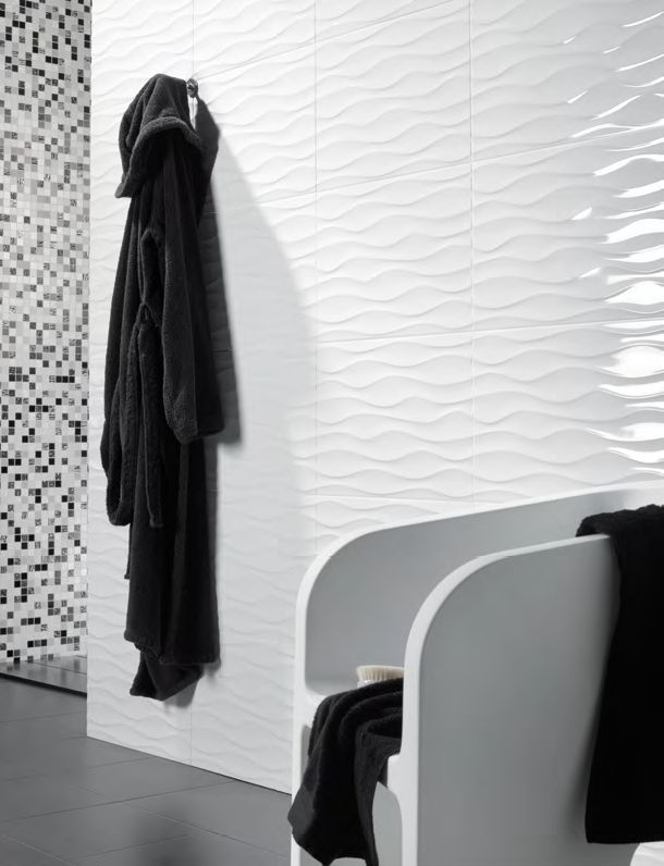 20 White Ripple Bathroom Tiles Ideas And Pictures Tile Bathroom Room Wall Tiles Bathroom Wall Tile