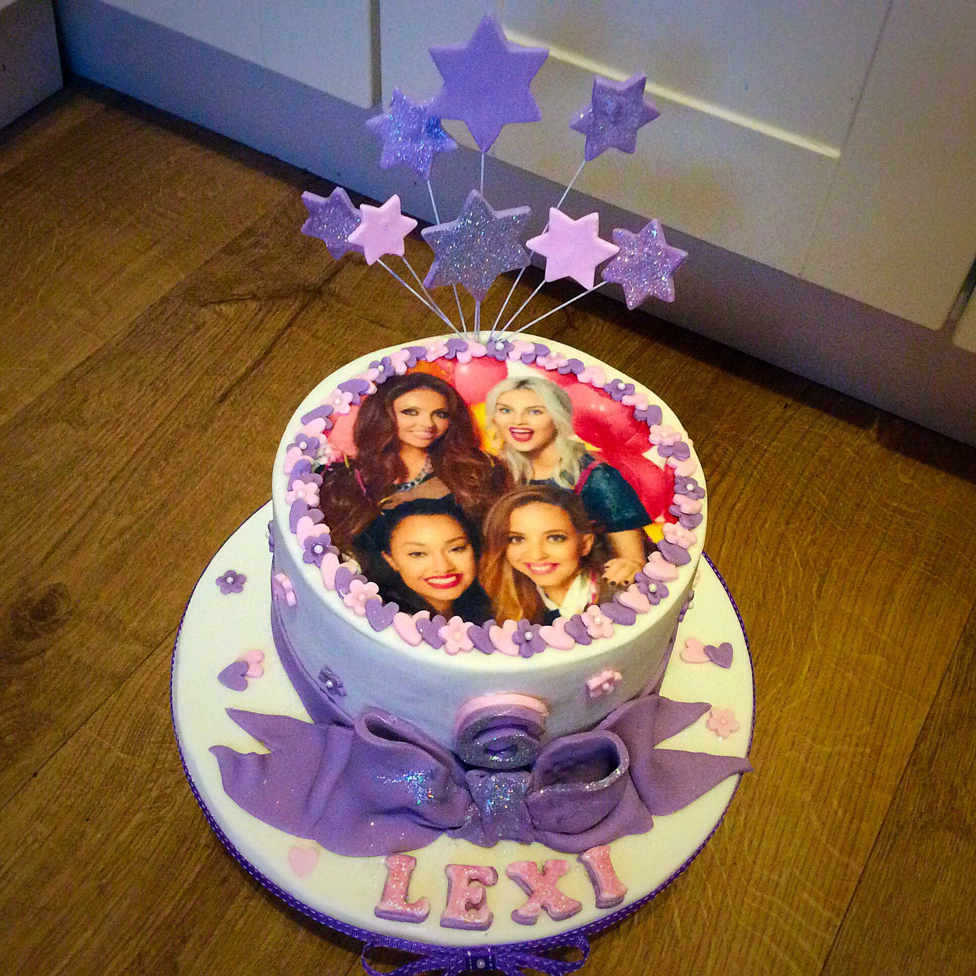 Little Mix Inspired 6th Birthday Cake