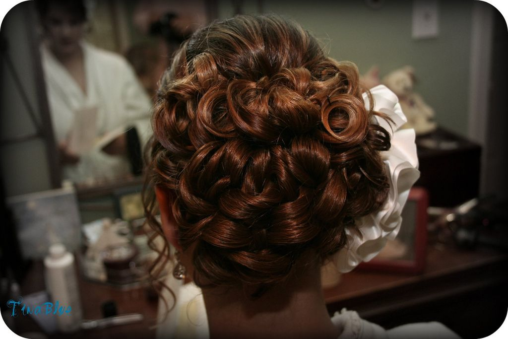 Old Fashioned Wedding Hairstyles