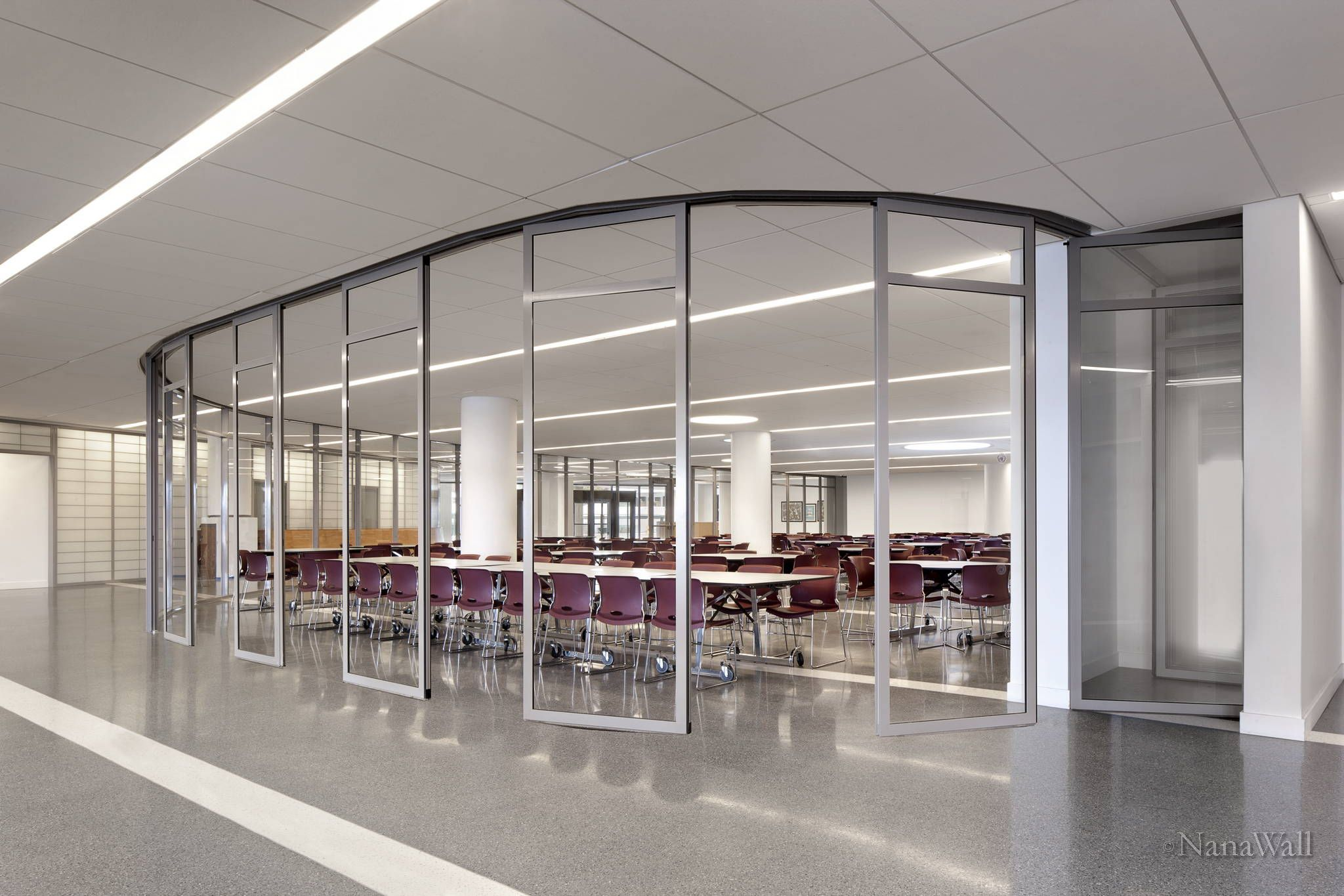 gallery office glass. Glass Wall Systems Gallery | NanaWall. Love The Pocket Are Stored In, Out Office