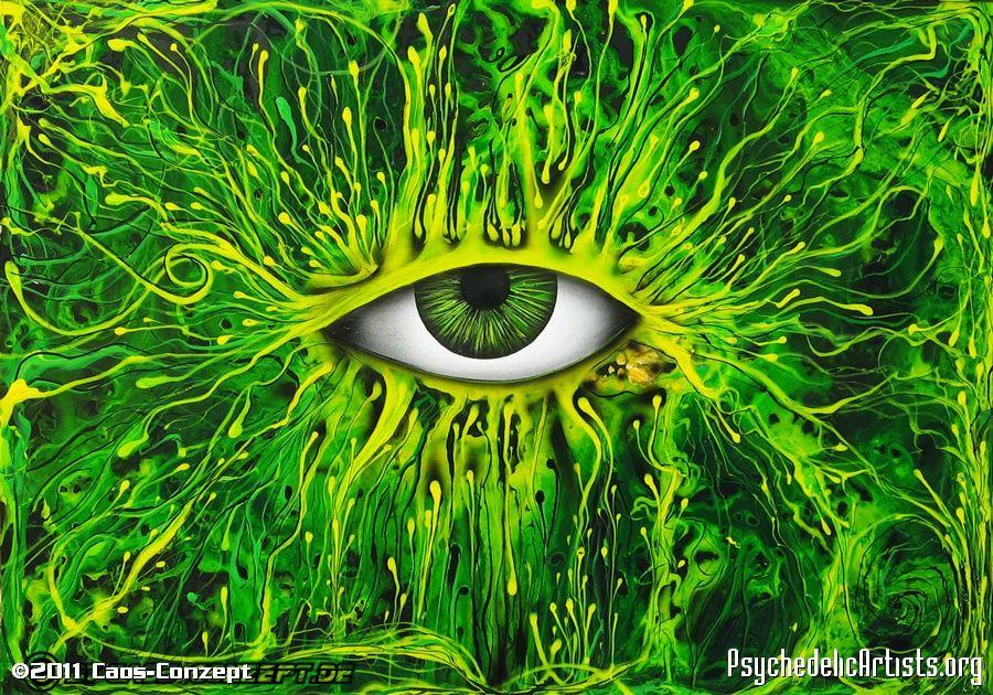 Risultati immagini per psychedelic eye