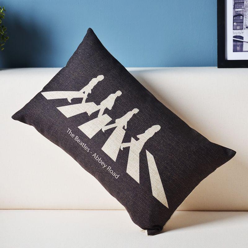 High Quality Pillow Beatles Promotion Shop For High Quality Promotional Pillow Beatles On Aliexpress Com Pillows Cotton Linen Cushion Sofa Throw Pillows