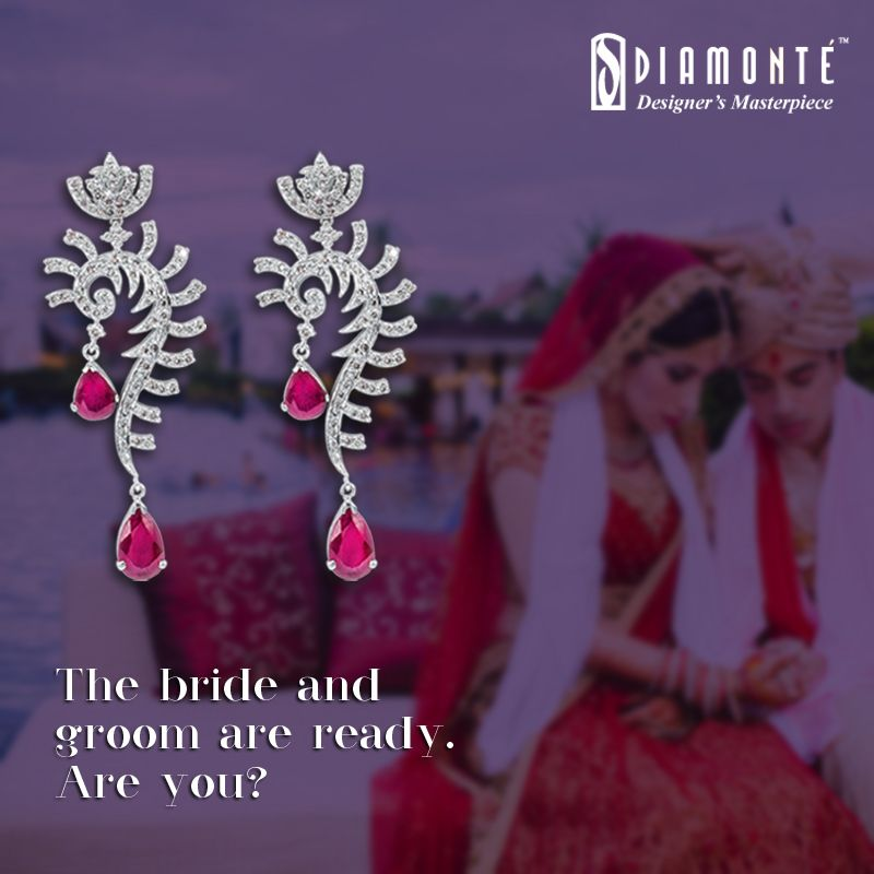 The wedding season is round the corner. Planned your look yet? We can help. #Diamonte #DiamondJewelry #EthnicJewelry #RoyalJewelry #girlsbestfriend #diamond #jewellery #lookgood #diamondsareforever #weddingseason #shaadiparty #weddingjewellery #bigfatindianwedding #weddingdiamond  Call us at +91 98100 22551 | Mail us at diamonte.gk@gmail.com or log on to www.diamontejewels.com.