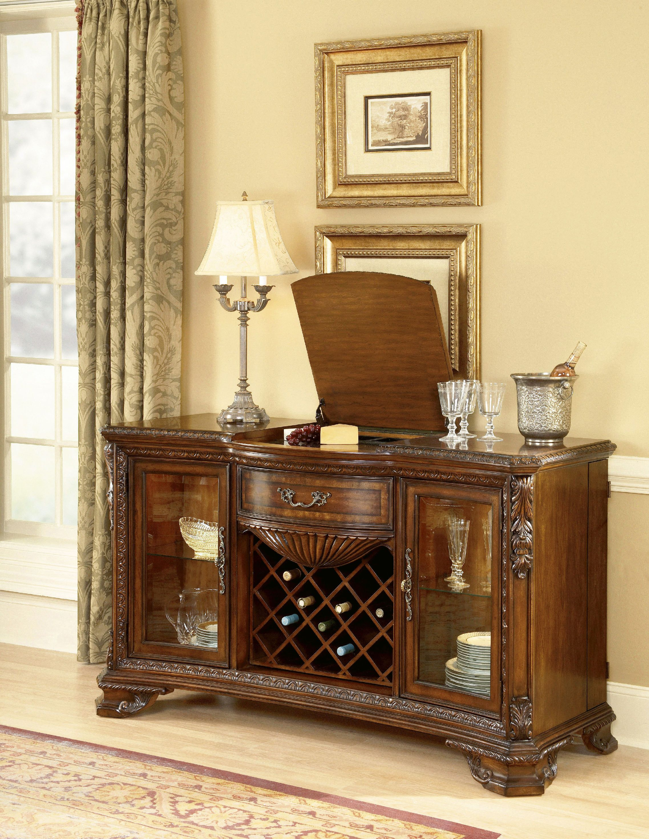 ART Furniture Dining Room Wine And Cheese Buffet 143252 2606   The Village  Shoppe