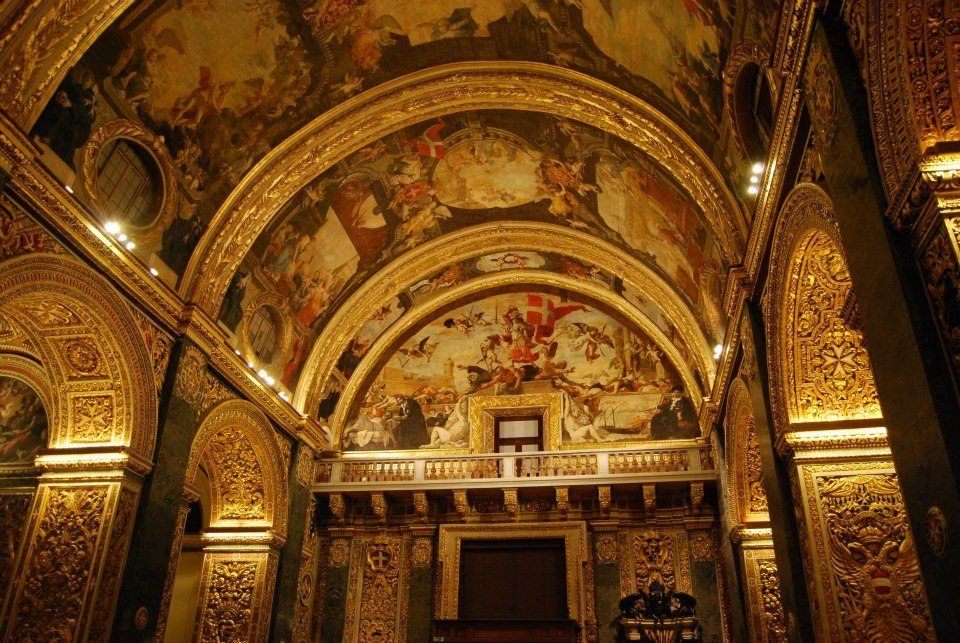 St. John's Co Cathedral Valletta Malta. Malta Direct will help you plan your getaway - http://www.maltadirect.com