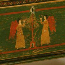 Mahantongo Angel Chest Detail