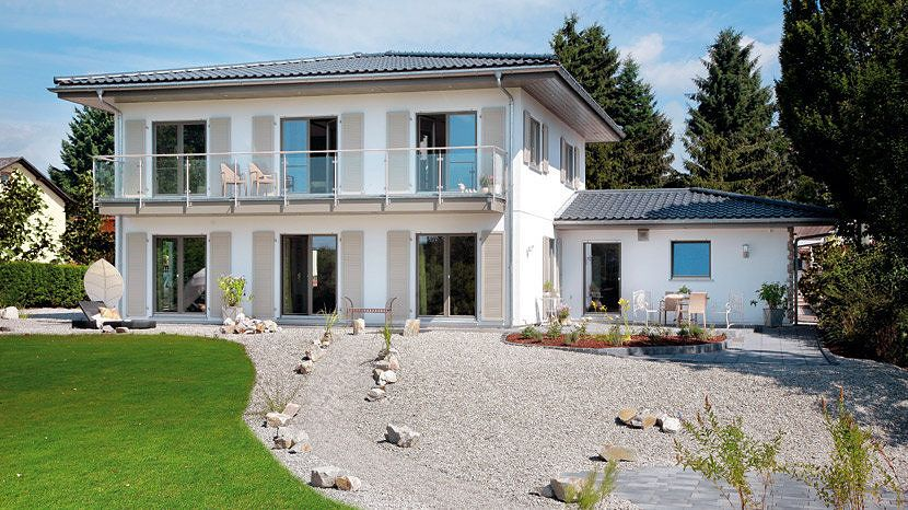 Französischer Landhausstil - E 20-201.1 - SchwörerHaus KG | Häuser ...