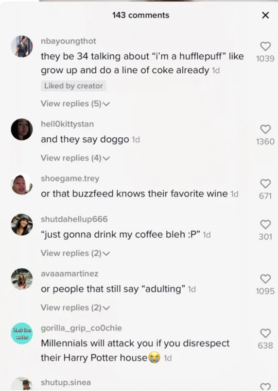 18 Funny Tweets From Gen Z Making Fun Of Millennials Funny Tweets Cool Things To Make Millennials