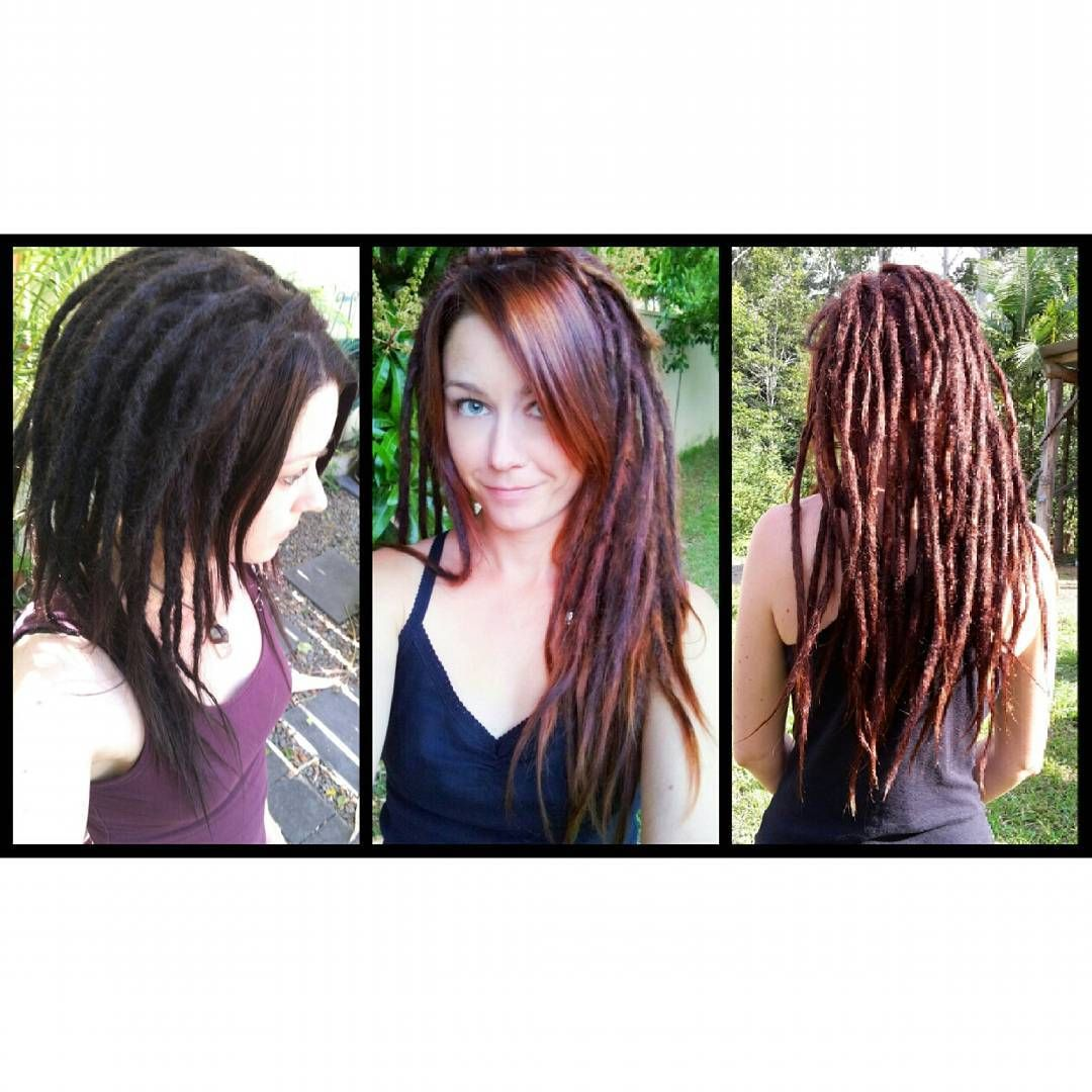 Here Is A Photo Showing My Dreads At Day 1 1 Year Old Then 2 5 Years Old When I First Got My Dreads I Discovered That Every Sh Silky Hair Dreads Hair Styles