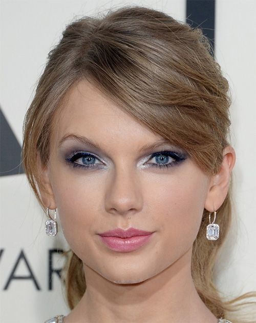 Taylor Swift Eye Makeup Tutorial Celebrity Tips For Small Eyes