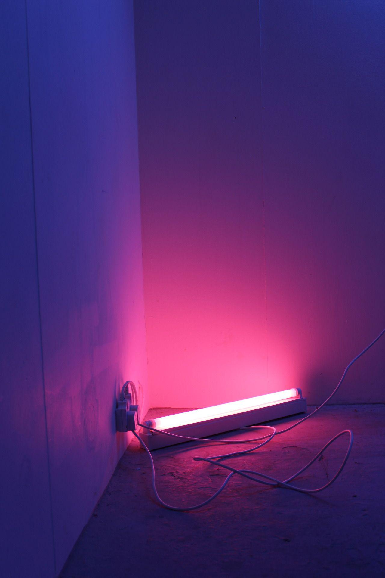 Dark Pink Aesthetic Neon