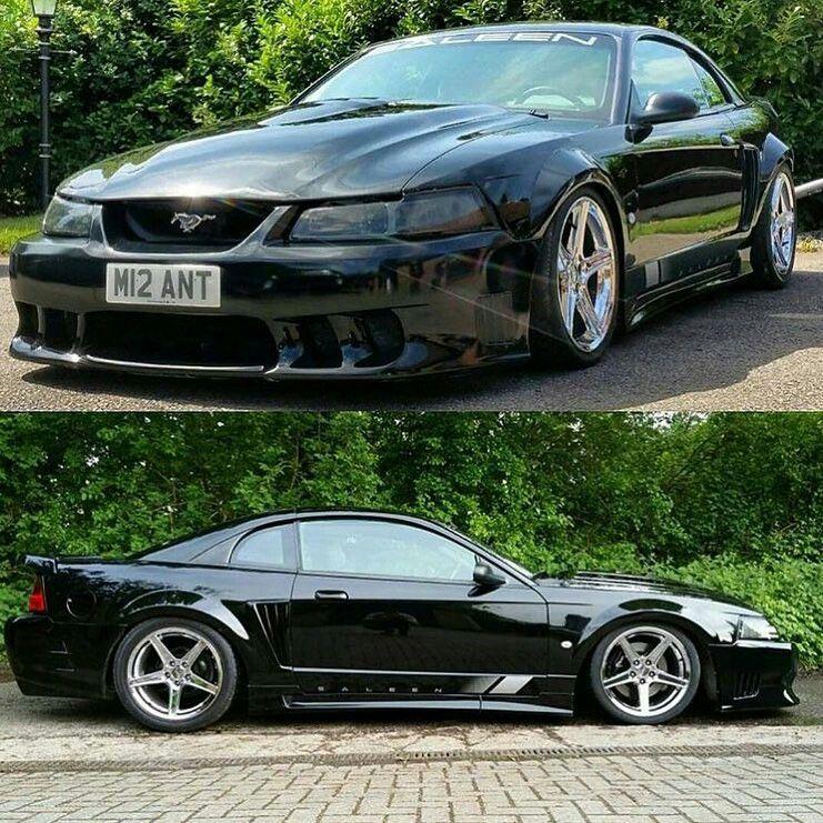 Slammed New Edge Saleen Mustang