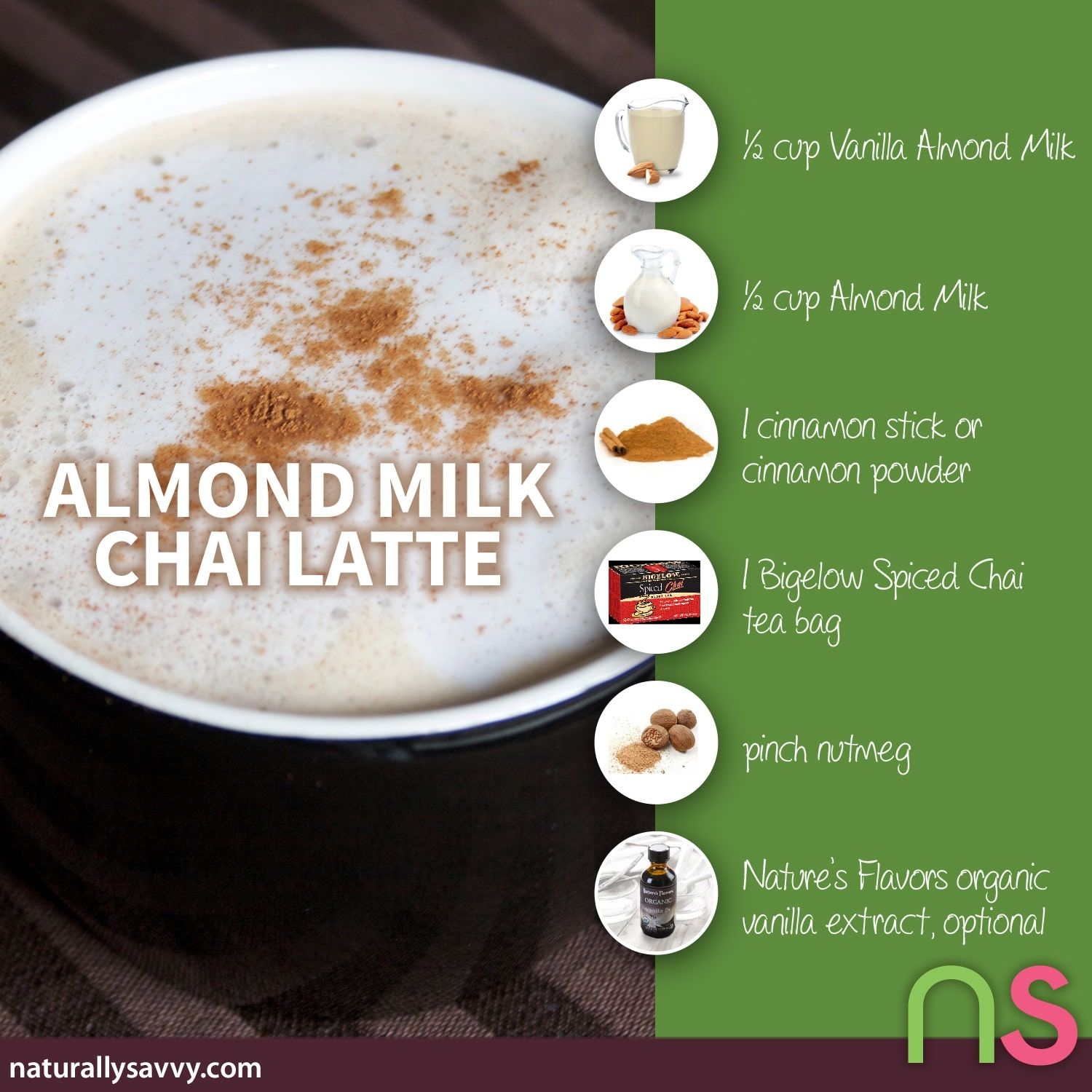 Almond Milk Chai Latte Recipe