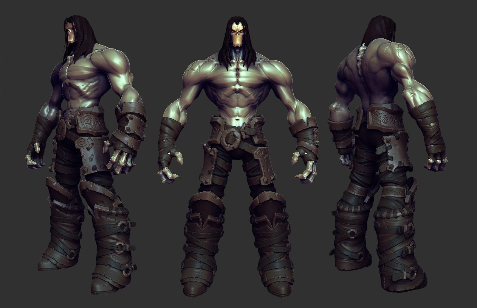 Darksiders 2 - Death Turnaround | Monsters | Pinterest ...