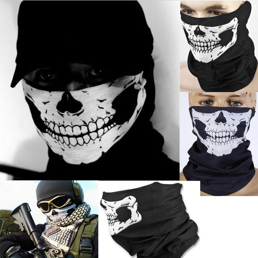 Call of Duty Military Army Masks Skeleton Ghost Skull Face Mask ...
