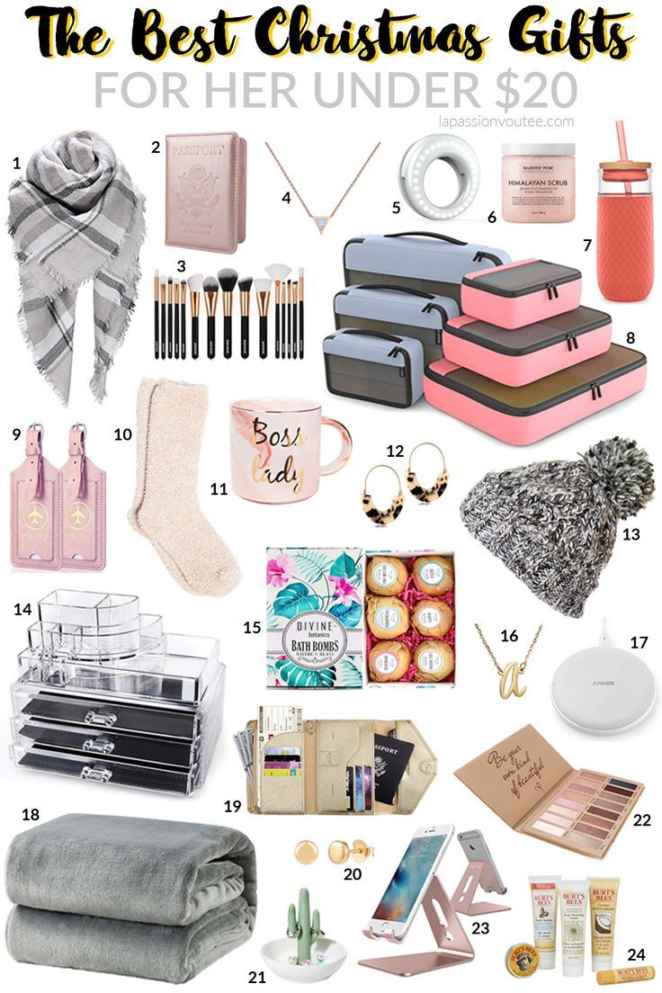 Best Christmas Gifts for Her under 20 in 2020 Best