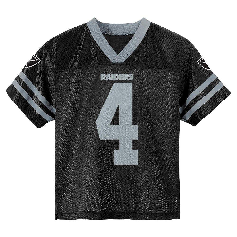 fdf519ef1 ... nike black game jersey 4d909 290a8; good oakland raiders baby boys derek  carr jersey 18m. newton boyscam 81c51 ba324