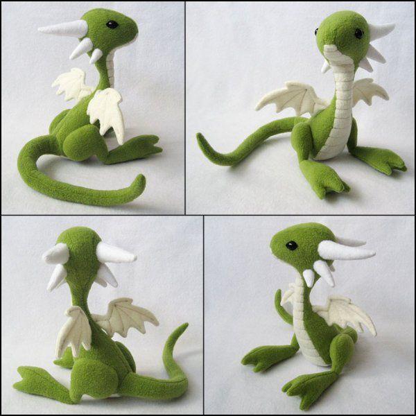 Friendly Dragon #feltdragon