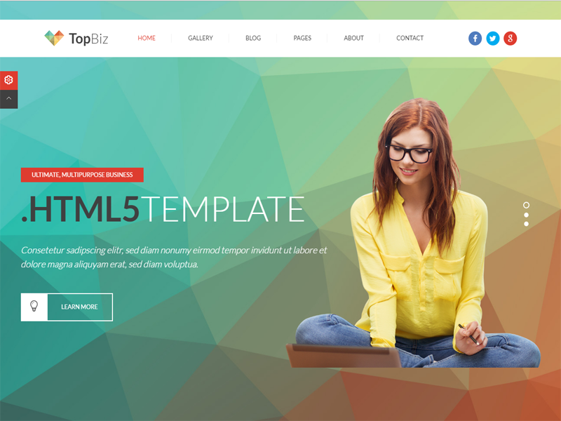 TopBiz is designed in Bootstrap grid and use easy. Topbiz is ...