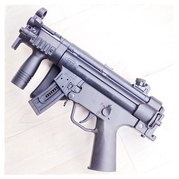 German Sport Guns  22 GSG-5 PK (Pistole, Kurz), with optional side
