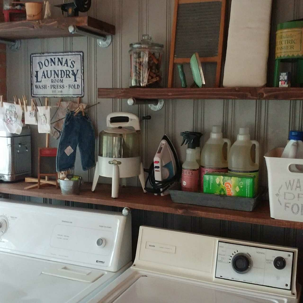 My New Sunroom Laundry Room Vintage Laundry Room Decor Primitive Laundry Rooms Vintage Laundry Room