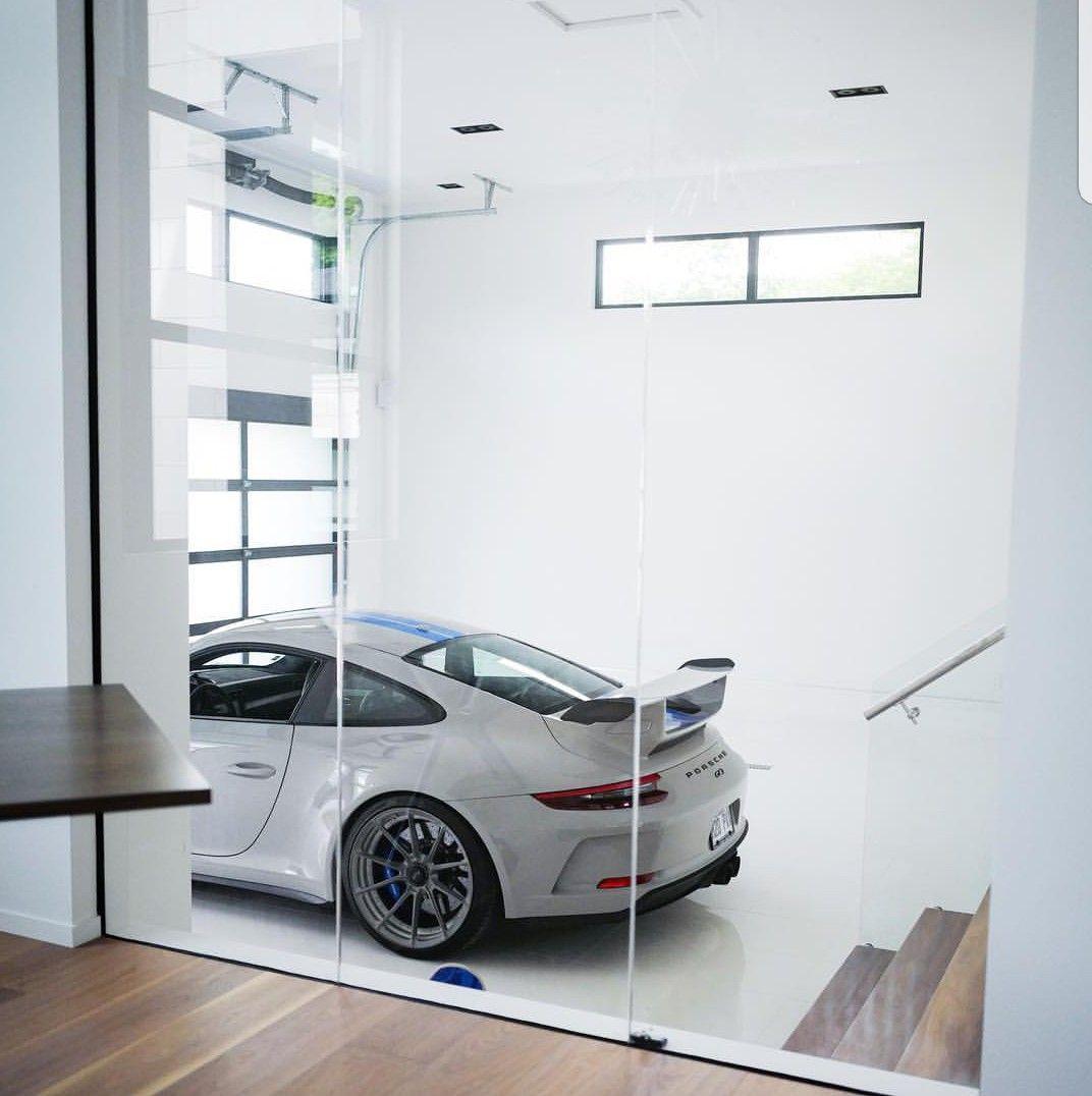 Glass Garage Wall Garage Interieur Huis Interieur Huis Ontwerpen