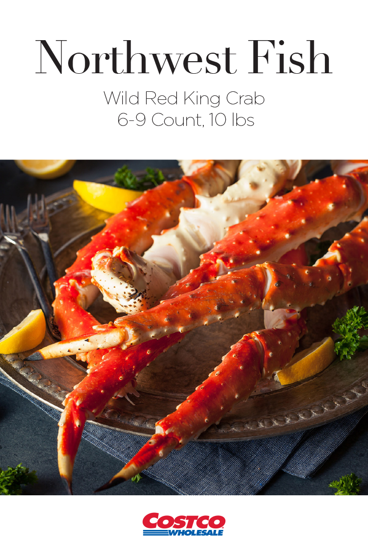 Northwest Fish Red King Crab is wild caught in the frigid