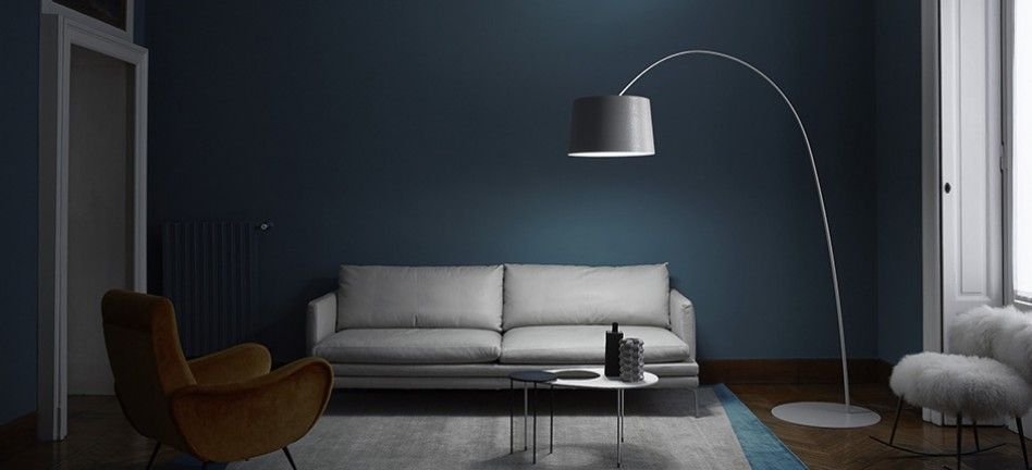A Foscarini Twiggy Floor Lamp Illuminates Zanotta William
