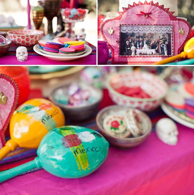 Dia De Los Muertos Wedding Inspiration