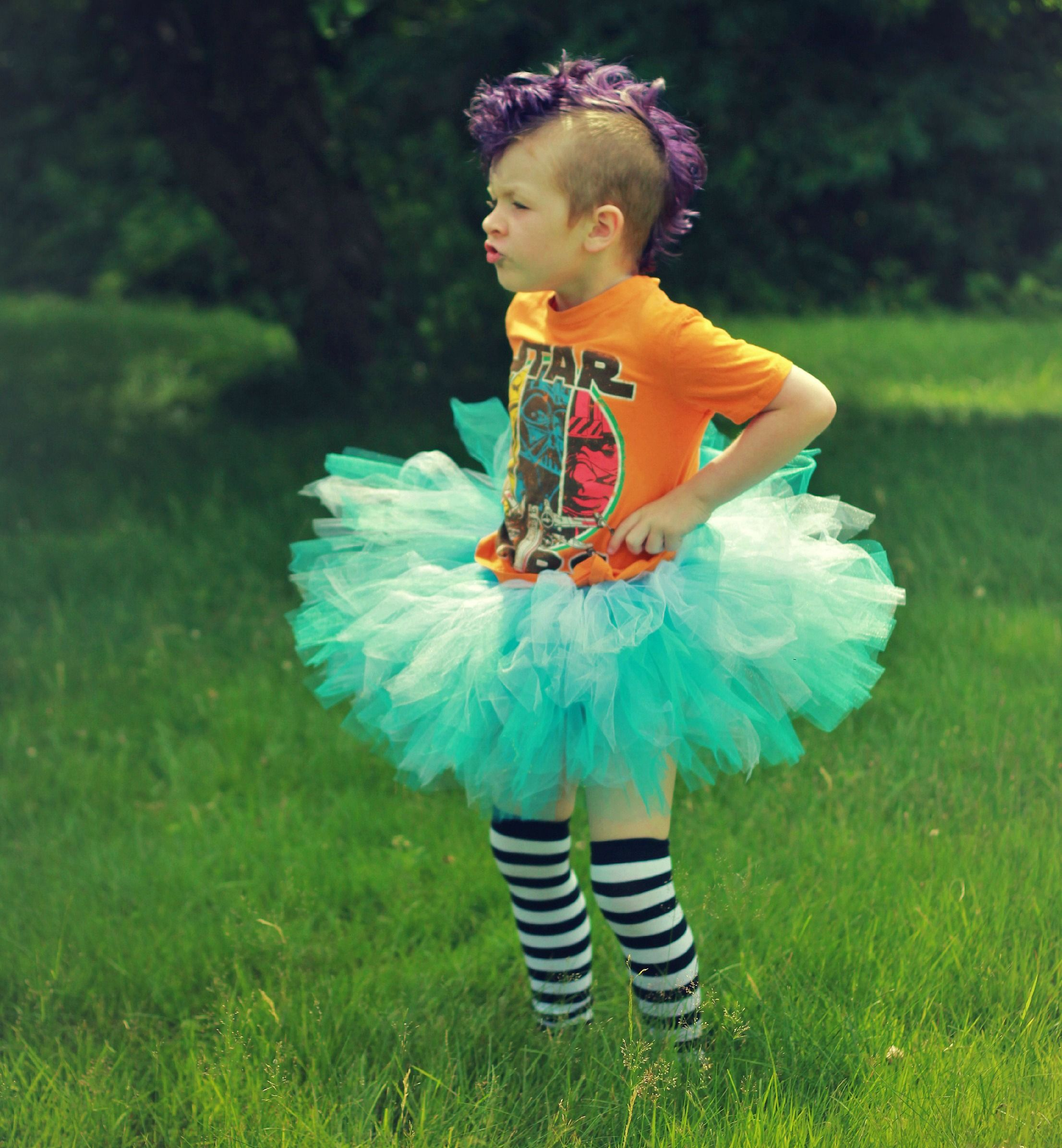 Mom Lets Her Son Pick His Own Outfit, And The Results Are