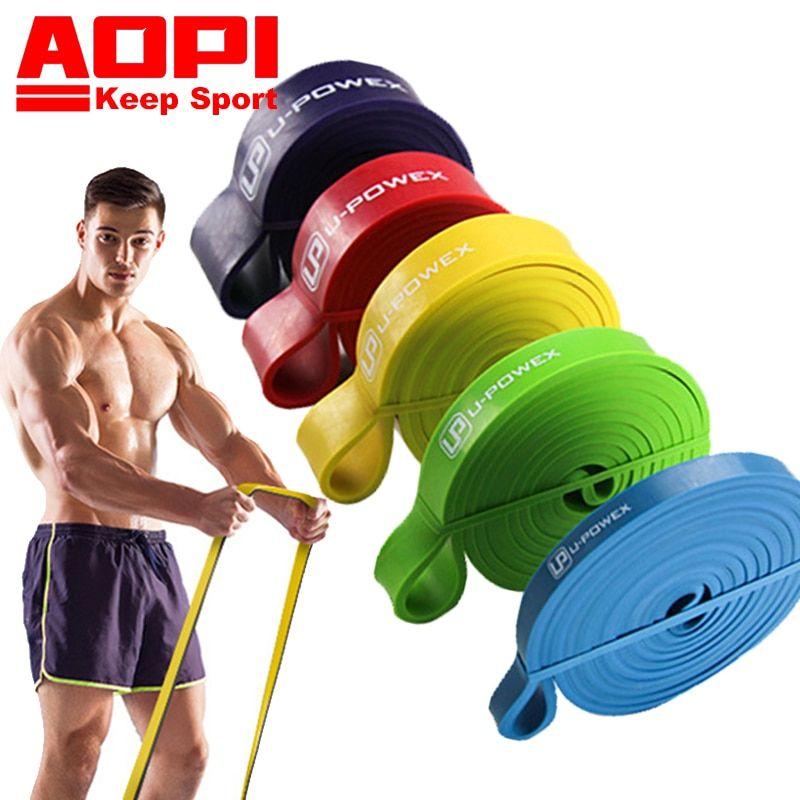 Aopi Resistance Band Pull Up 208cm 82 Sport Elastic Band Workout