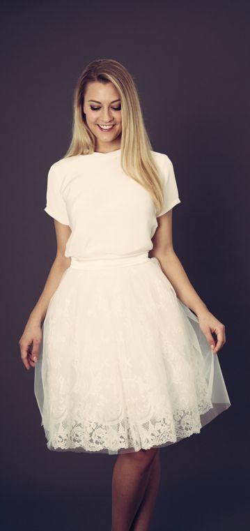 Anne Wolf - Bea & Bo Kleid für Standesamt | Hochzeitskleid ...