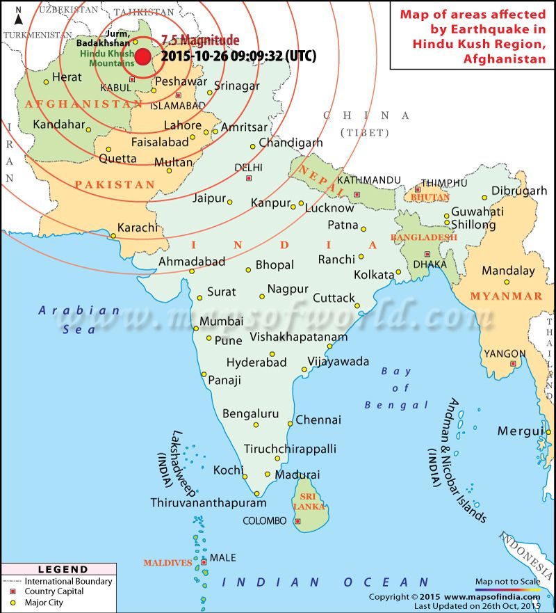 Map of areas affected by earthquake in afghanistan oct 26 2015 indian subcontinent map history of indian subcontinent includes all of india as well as bangladesh bhutan nepal sri lanka and pakistan gumiabroncs Images