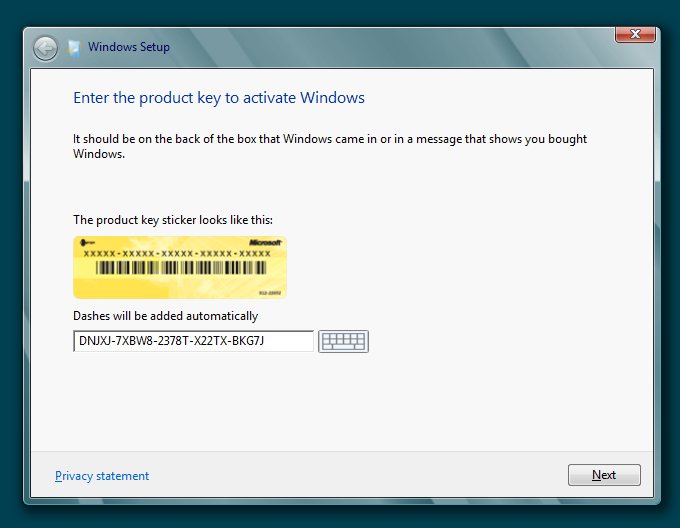 Download Free Windows 8 Product Key for all versions