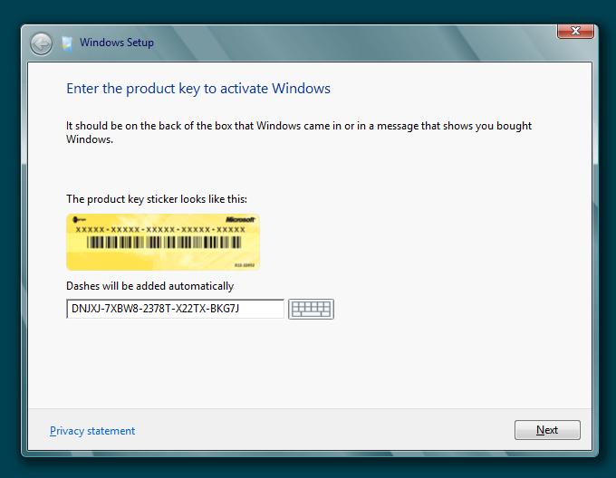 all windows 8 product keys